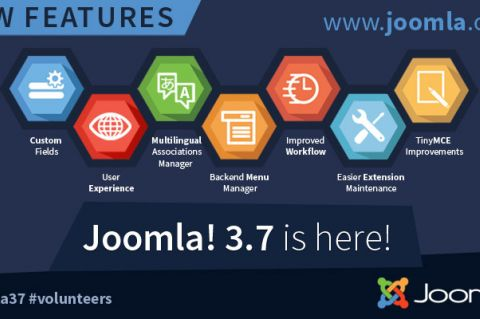Joomla 3.7 is here